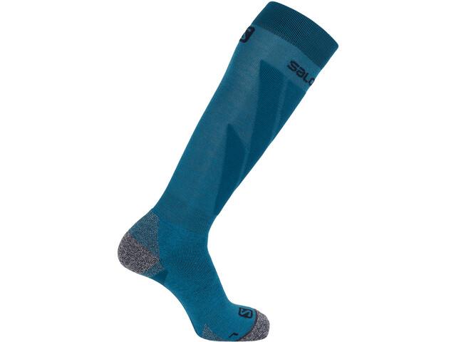 Salomon S/Access Calcetines Pack de 1 Hombre, fjord blue/lyons blue